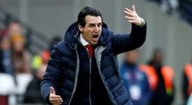 Emery has urged his side to battle with confidence. GOAL