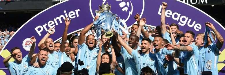 Vincent Kompany has warned Manchester City's rivals. AFP