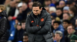 The Bayern result showed Lampard he still has a lot of work to do at Chelsea. AFP