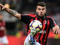 Wolves have signed Patrick Cutrone from AC Milan. AFP