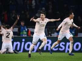 O United terá quatro dias a mais de descanso que o Barça. AFP