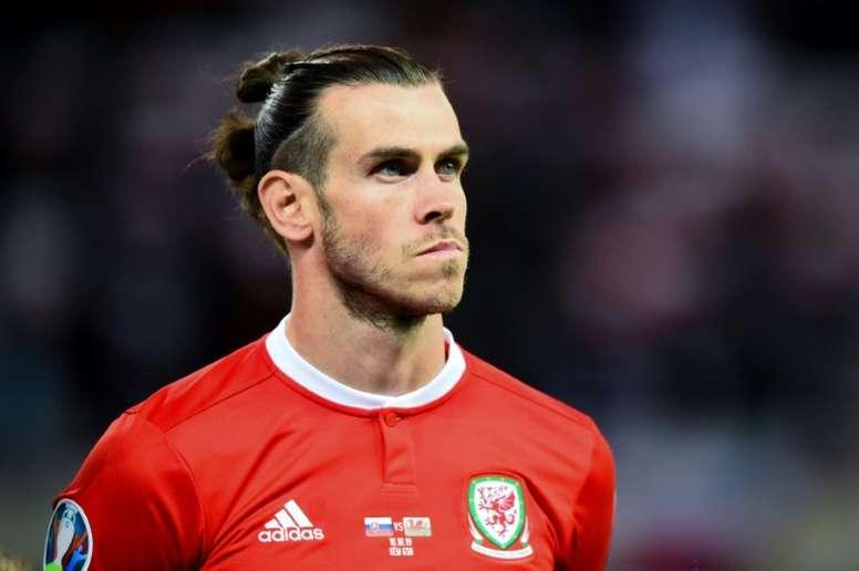 Bale afirmou em coletiva de imprensa que está pronto para ter mais minutos em campo. AFP