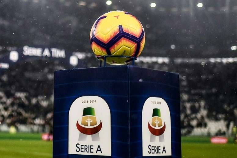 Serie A will begin on June 20 with four postponed matches. AFP