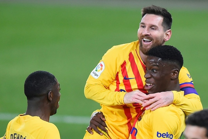 Ilaix Moriba ne répond pas au Barça. AFP