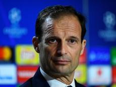 Massimiliano Allegri is still hopeful of a famous Champions League comeback. AFP
