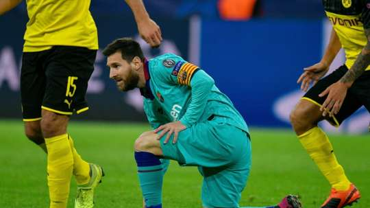 Messi returns as Dortmund rue missed chances against Barcelona. AFP