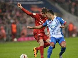Jiloan Hamad abandona temporalmente el Hoffenheim para jugar en Suecia. AFP/Archivo