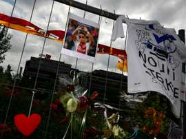 There will be a sombre mood in the stadium on Wednesday. AFP