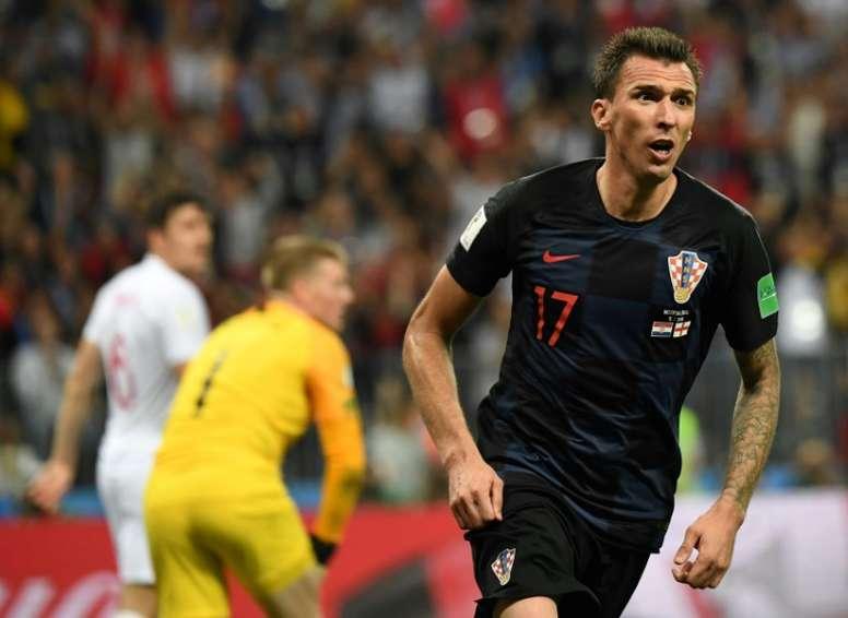Mandzukic est un héros en Croatie. AFP