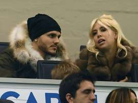 Icardi has been replaced as captain by Handanovic. AFP