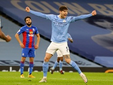 Stones scores twice as Man City cruise past Palace. AFP
