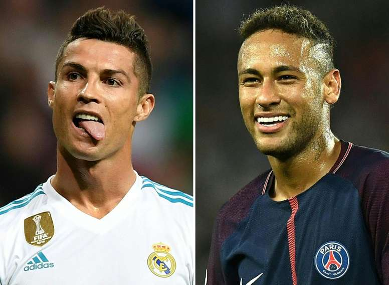 PSG v Real Madrid - the debate. AFP