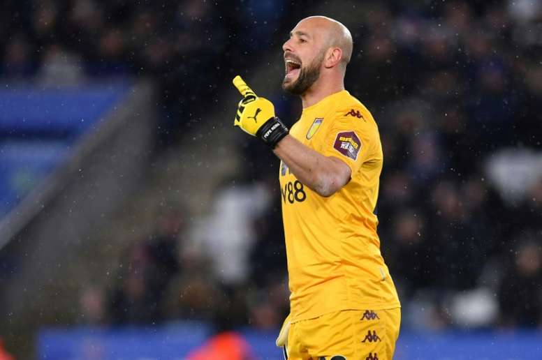 Pepe Reina gave an interview to Spanish radio station 'COPE'. AFP