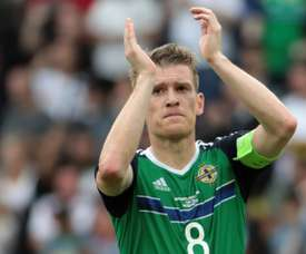 Steven Davis is sure that the future of Northern Irish football is positive. AFP