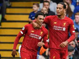 Liverpool continue their winning streak. AFP