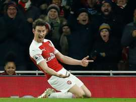Laurent Koscielny is looking to move to Bordeaux. AFP