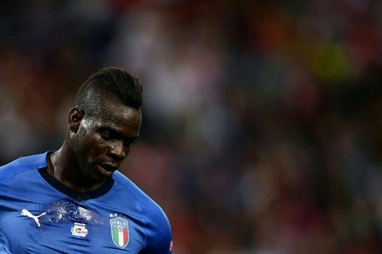 Mancini no convocó a Balotelli. AFP
