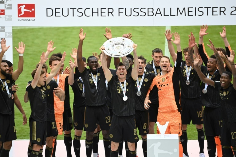 Bayern campeón Bundesliga 2020-21