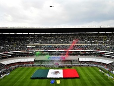 The Azteca is key to the bid. AFP