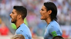 La liste de l'Uruguay pour les éliminatoires du Mondial 2022. AFP