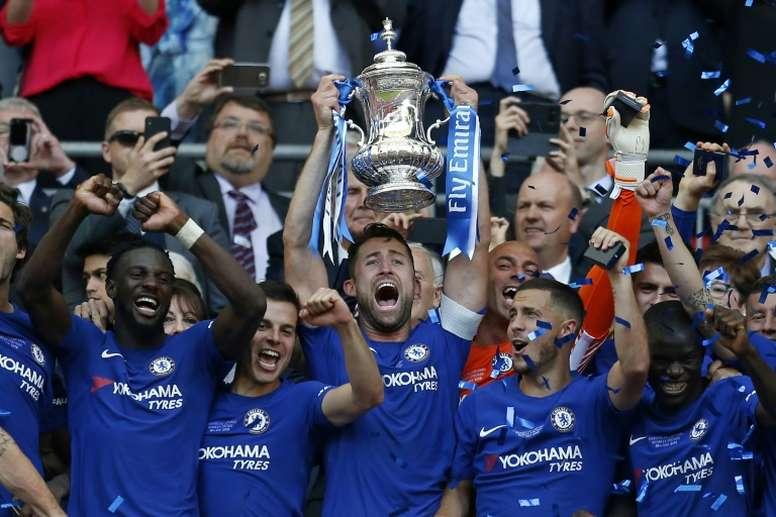 Cuatro títulos en cinco años. AFP