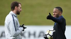 Southgate se carga a Sterling tras una bronca con Joe Gomez por el Liverpool-City. AFP