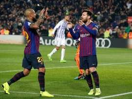 Messi continue de performer. AFP