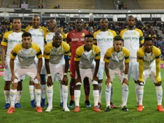 Mamelodi Sundowns were victorious over Golden Arrows. AFP