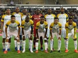 Mamelodi Sundowns were victorious over Golden Arrows. AFP