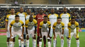 Mamelodi Sundowns have pipped Kaizer Chiefs to the SA league title. AFP