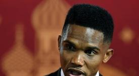 Eto'o is set to join Konyaspor after leaving Antalyaspor. AFP
