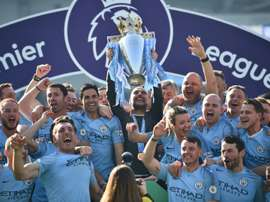 Manchester Citys two-season ban from European competitions was lifted. AFP