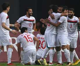 Syria's players aim to solely focus on football this month. AFP