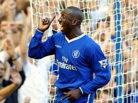 Hasselbaink évoque son étape à Chelsea sous les ordres de Ranieri. AFP