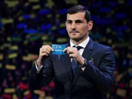 Casillas will run for the Spanish FA presidency. AFP