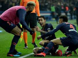 Di Maria proved key for PSG. AFP