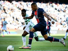 Mbappé is staying at PSG. AFP