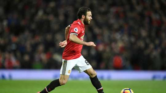 Juan Mata has warned his Manchester United team mates against complacency. AFP