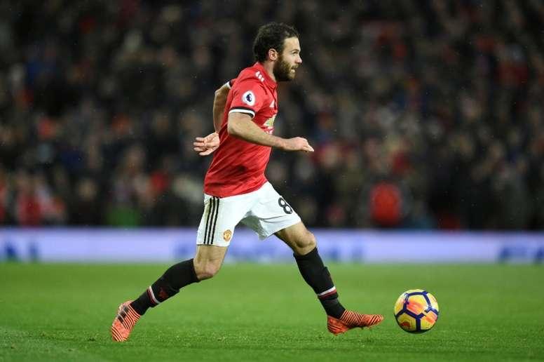 Juan Mata comme alternative. AFP