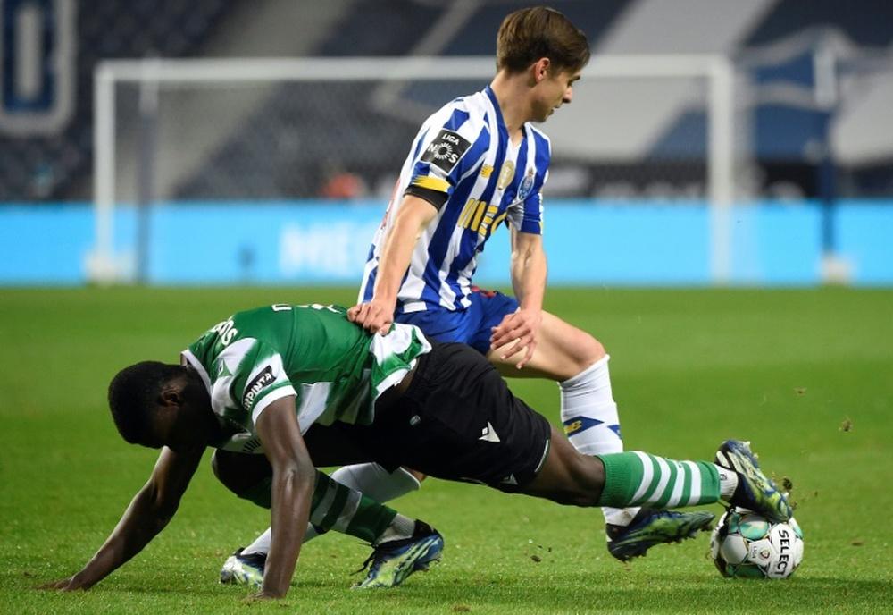 Prováveis escalações de Sporting e Porto. AFP