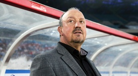 Benitez wasn't happy after the match. AFP