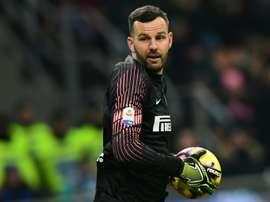 L'Inter prépare un nouveau contrat pour Handanovic. AFP