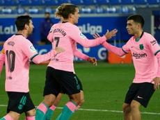Barcelona drew 1-1. AFP