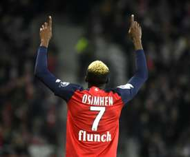 Napoli will pay 60 million for Osimhen. AFP