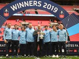 Manchester City. AFP