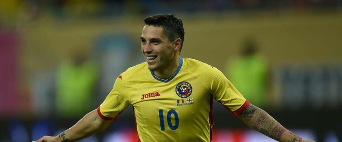 Stanciu strike hands Belgians crucial lead. AFP