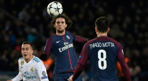 Rabiot rues first-leg errors as PSG exit Europe. AFP
