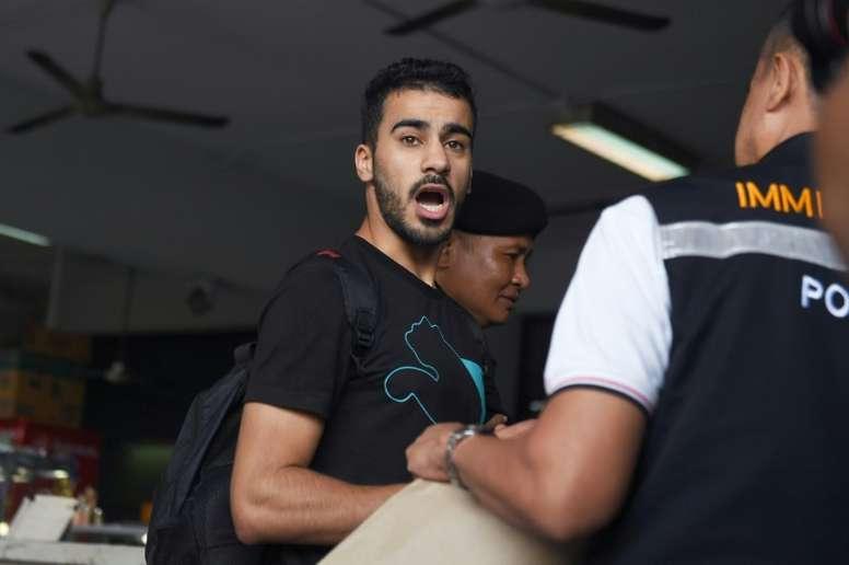 Días clave para Hakeem Alaraibi. AFP
