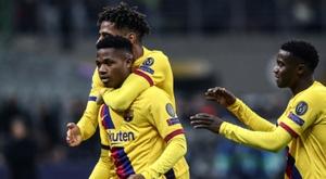L'autre Barça frappe à la porte de Valverde. AFP