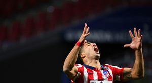 Luis Suarez has scored five goals in nine games since joining Atletico Madrid. AFP